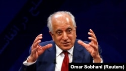 FILE: The U.S. special representative for Afghanistan, Zalmay Khalilzad.