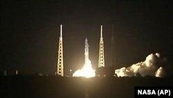 Запуск ракети Falcon 9 на Міжнародну космічну станцію. Флорида, червень 2018 року