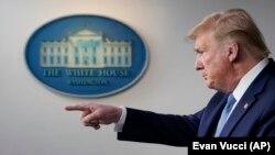 دونالد ترمپ رئیس جمهور امریکا