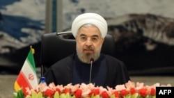 Президент Хасан Роухани. Тегеран, 26-ноябрь 2013.