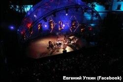 Виступ гурту ДахаБраха на фестивалі