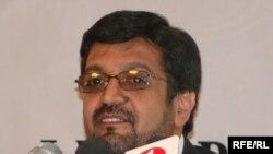 ECC spokesman Ahmad Zia Rafat (file photo)