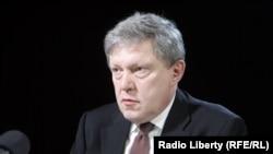Російський політик і економіст Григорій Явлінський
