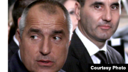Bulgaria - Boiko Borisov and Tvetan Tvetanov, leaders GHERB, Jul2009