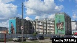 Казанны граффити чорнап алды