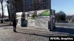 Відповідно до проекту, меморіальний комплекс складатиметься з двох частин