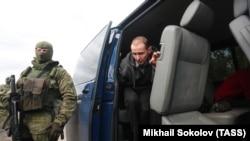 Размена на затвореници во Украина.