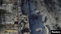 Так виглядав новий термінал Донецького аеропорту з повітря тиждень тому, 15 січня 2015 року, кадри «Армія SOS»