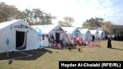 مخيم للمدراس الصديقة أقامته يونيسف بمحافظة بابل