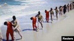 """Убийство боевиками """"Исламского государства"""" группы эфиопских христиан летом 2015 года"""