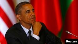АҚШ президенті Барак Обама. Варшава, 4 маусым 2014 жыл.