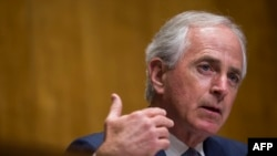 U.S. Senate Foreign Relations Committee Chairman Sen. Bob Corker (R-TN).