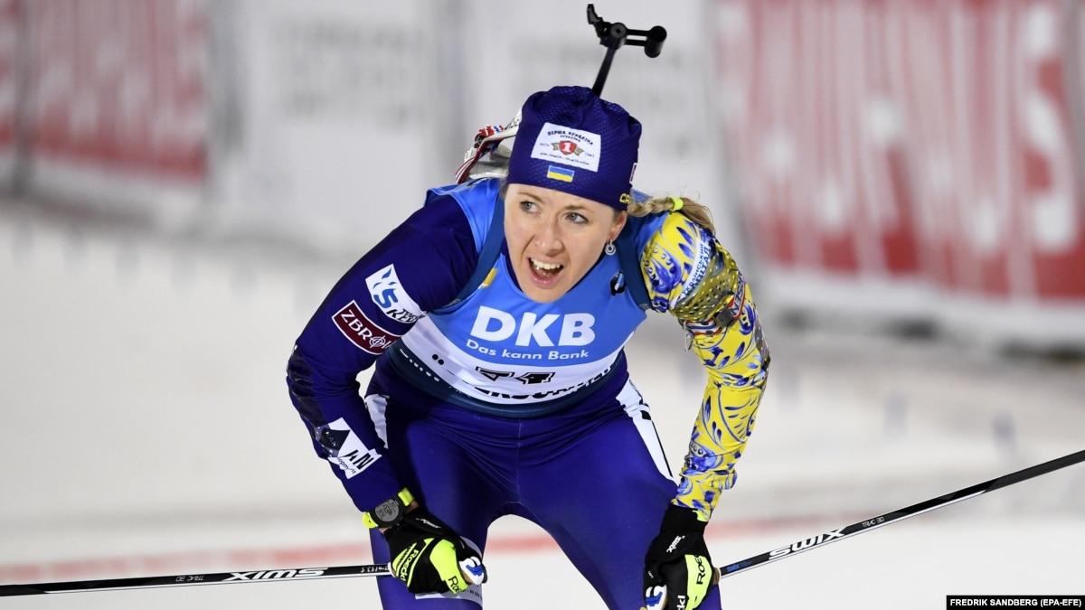 Биатлон: женская сборная Украины стала четвертой в эстафете