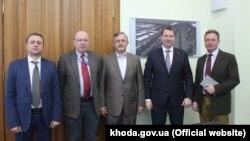 Зустріч представників моніторингової місії ОБСЄ і глави Херсонщини Андрія Гордєєва, 22 лютого 2017 року