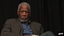 American actor Morgan Freeman (file photo)