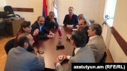 Засідання парламентської фракції «Елк», Єреван, Вірменія, 30 квітня 2018 року