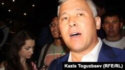 Мурат Абенов, вице-министр образования и науки. Алматы, 6 августа 2012 года.