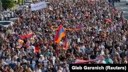 Հայաստանյան ընդդիմությունը շարունակում է բողոքի ակցիաները, Երևան, 30-ը ապրիլի, 2018 թ.