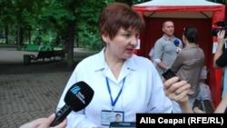 Ministrul sănătății Svetlana Cebotari (foto arhiva)