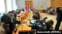 Specijalni izaslanik predsednika Kine sa delegacijom u Vladi Srbije