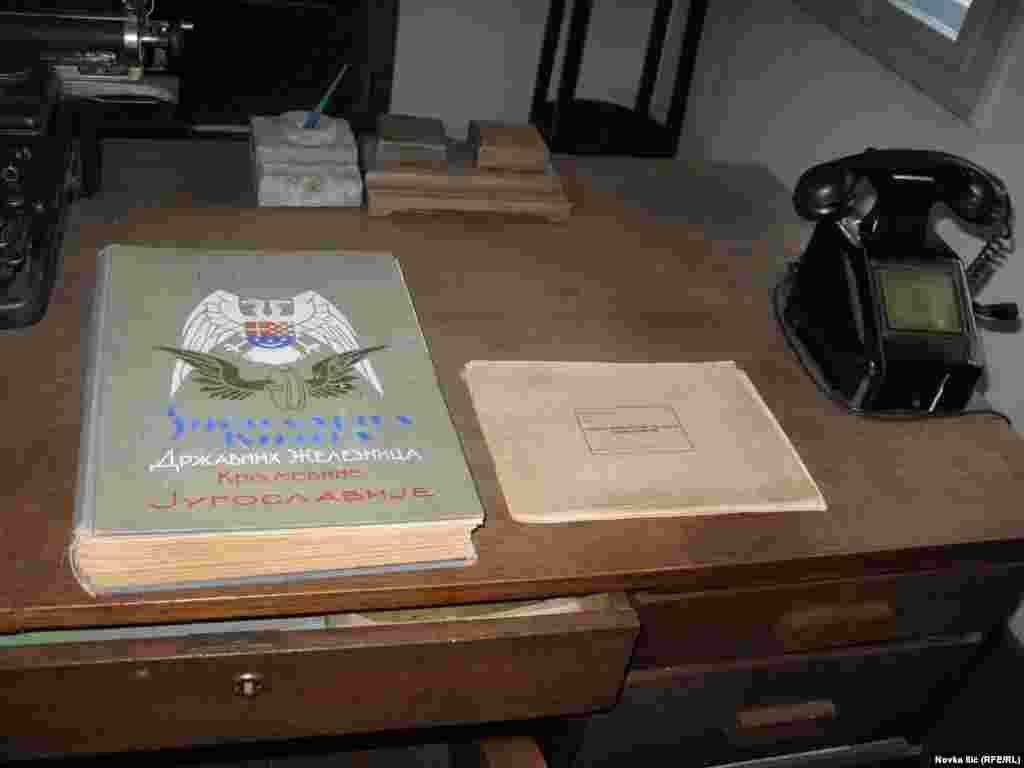 Knjiga državne železnice iz 1919. godine