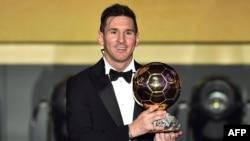 Минулого року «Золотий м'яч» вже вшосте дістався Ліонелю Мессі