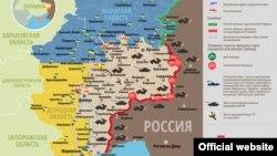 Ситуация в зоне боевых действий на Донбассе 19 февраль 2015 года
