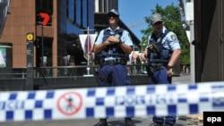 Policia në Australi, foto nga arkivi
