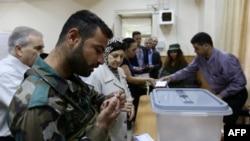 رایگیری در دمشق٬ پایتخت سوریه- ۱۳ خردادماه