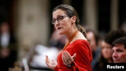 Canadian Foreign Minister Chrystia Freeland endorsed the Magnitsky legislation this week.