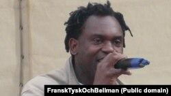 Swedish recording artist Alban Nwapa (file photo)