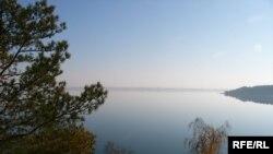 Одно из озер в Северном Казахстане.