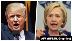 Donald Trump və Hillary Clinton