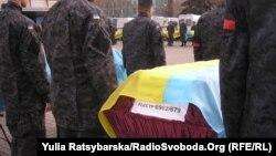 Dnepropetrovskda dəfn - 18 oktyabr 2014
