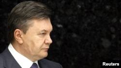 Ukraine's President Viktor Yanukovych (file photo)