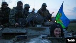 Украина хәрбиләре Славянски янында