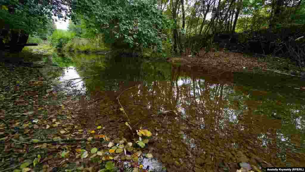 Куйбышево вытянулось вдоль берегов реки Бельбек