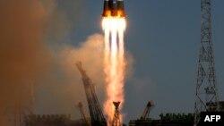 """Установка ракетоносителя """"Союз-2"""". Иллюстративное фото."""