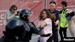 Задержания на акции в центре Москве, 27 июля 2019 года