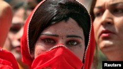 "In Pakistan, transgender people are known officially as ""third-gender"" citizens. (file photo)"