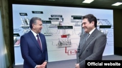 Шавкат Мирзиëев 2019 йил 6 май куни Фарғона нефтни қайта ишлаш заводини сотиб олган Аъзам Асланов билан учрашди.