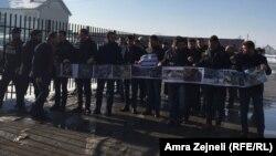 Protest protiv izjava ministra Aleksandra Jablanovića