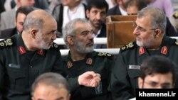 از چپ؛ حسین سلامی، علی فدوی و محمد پاکپور