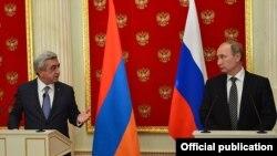 Встреча президентов Армении и России, Сержа Саргсяна и Владимира Путина, в Москве, 10 августа 2016 г.