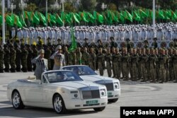 Военный парад, Ашхабад, 27 сентября, 2018