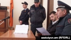Айк Кюрегян в суде, 30 ноября 2015 г.