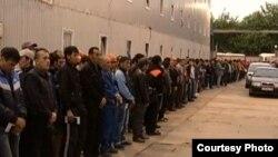Imigrantët e burgosur në Moskë...