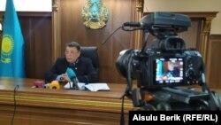Кенжегали Кенжебеков, судья специализированного межрайонного суда по уголовным делам Жамбылской области.