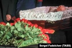 11 декабря 2018 года, похороны Людмилы Алексеевой