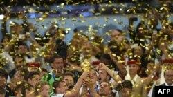 Німеччина святкує перемогу на чемпіонаті світу в Бразилії, 13 липня 2014 року